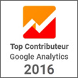 Top Contributeur 2016 - Google Analytics